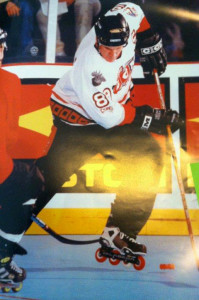 Captain Daryn Goodwin at the NARCh Finals in Atlanta, 1998.
