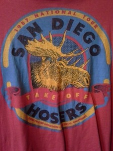 This was the second Hoser jersey, date unknown.